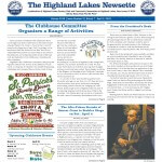 Highland Lakes Newsette - 2015.03.07 cover