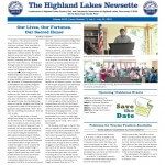 Highland Lakes Newsette - 2015.07.04 cover
