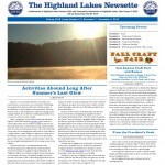 Highland Lakes Newsette 2015.11.07 Cover