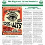 Highland Lakes Newsette 2016.04 Cover