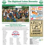 Highland Lakes Newsette Cover 2016.08.27